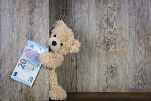 Teddy hat 20 Euro