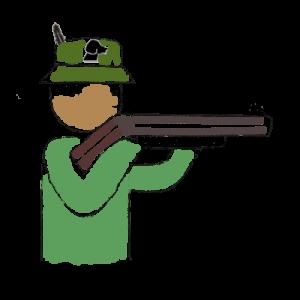 Jäger Strichmännchen